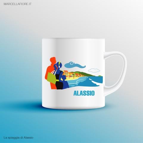 Tazza Spiaggia di Alassio